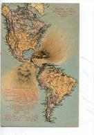 Amérique Canal De Panama Géographique : The Kiss Of The Atlantic And Pacific Oceans (Statistics) - Panama