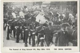 CPA - LES FUNERAILLES DU ROI EDOUARD VII , Le 20 Mai 1910 - Edition Anglaise ? - Königshäuser