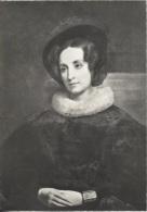 CPSM - ALBERTINE DE STAËL Fille De Mme De STAËL  Portrait De A.Schaeffer - Edition Château De Coppet - Ecrivains