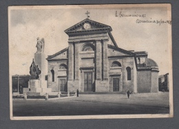 1948 LIVORNO CHIESA S. MARIA DEL SOCCORSO MONUMENTO AI CADUTI FG V SEE 2 SCANS ANIMATA - Livorno