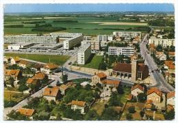 Cpsm: 91 RIS ORANGIS En Avion Au Dessus De ... Place Du Moulin à Vent, Centre Commercial (Vue Aérienne) 1967   N° 1 K - Ris Orangis
