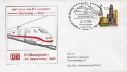 GS Aufnahme ICE -Verkehr  Hamburg - Kiel - Trains