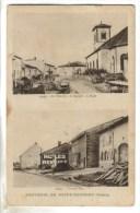 CPSM SAINT GEORGES (Moselle) - Souvenir De....la Mairie, La Grand Rue - Other Municipalities