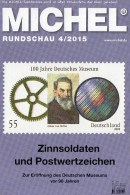 Briefmarken Rundschau MICHEL 4/2015 Neu 6€ New Stamps Of The World Catalogue And Magacine Of Germany ISBN 9783954025503 - Télécartes