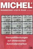 MICHEL Briefmarken Rundschau 4/2015-plus Neu 6€ New Stamps World Catalogue And Magacine Of Germany ISBN 9 783954 025503 - Télécartes
