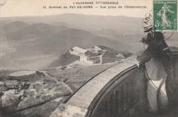 L'AUVERGNE PITTORESQUE -63- SOMMET DU PUY DE DOME - VUE PRISE DE L'OBSERVATOIRE - Autres Communes