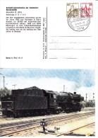 APP 122/1  Schnellzuglokomotive Bundesbahn 1925, Blumberg.Baden 1 - Privatpostkarten - Gebraucht
