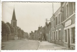 CPSM HUISSEAU SUR MAUVES (Loiret) - Le Bourg - Sonstige Gemeinden