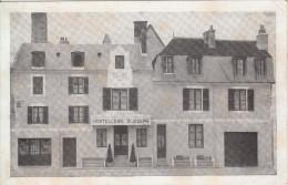 18 - BOURGES / HOSTELLERIE SAINT JOSEPH - PLACE SAINT BONNET (VERSO FACTURE) - Bourges
