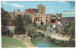 River Theater On The Banks Of The San Antonio River, San Antonio, Texas - San Antonio