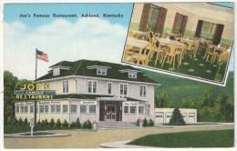 Joe's Famous Restaurant, Ashland, Kentucky - Etats-Unis