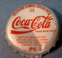 Coca-Cola Kronkorken Western Samoa bottle crown cap chapa tapon corona tappi tappo capsule