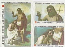 SMOM-1983 St John 5thIssue 215-217 Set MNH - Malte (Ordre De)