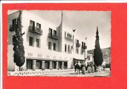 BOU SAADA Cpsm Animée Hotel Transatlantique        106 P A - Argelia