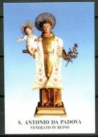 Santino - S. Antonio Da Padova - Venerato In Reino (BN) - Preghiera - - Santini