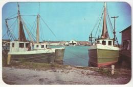 Fishing Vessels In Port, West Sayville, Long Island, N.Y. - Long Island