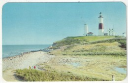 Montauk Point Lighthouse, Montauk Point, Long Island, N.Y. - Long Island