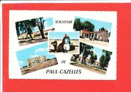 PAUL CAZELLES Cpsm Multivues Souvenir      735 Jaseber - Andere Steden