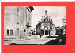 SOUK AHRAS Cpsm Animée Mairie Et Théatre      13 CAP - Andere Steden