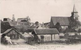 LE GRAND PRESSIGNY (I ET L) 7 VUE GENERALE DE L'EGLISE ET DU CHATEAU - Le Grand-Pressigny