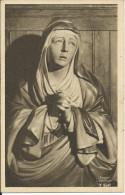 CPA LYON 69, Monastère De Ste-Elisabeth De Notre-Dame De Compassion,  Buste Polychrome - Lyon