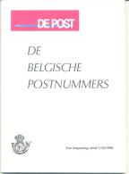 (B100) De Belgische Postnummers 1/10/1990 - Autres Livres