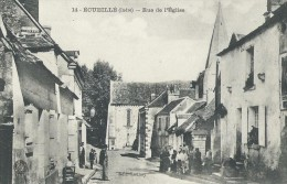 ECUEILLE   ( 36 ) - Rue De L' Eglise - Frankreich