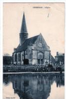 Cpa De Cesseville- Eure  -   L'église - France