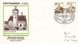 aPU 108/25  Ersttagsbrief Burg Ludwigstein, Bonn 1