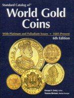 Katalog Goldmünzen Der Welt 2009 Neu 119€ 6.Edition English World Gold Coins Standard Catalogue Numismatica 1601-present - Arte