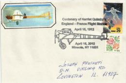 Harriet Quimby, Première Femme A Avoir Effectuer La Traversée De La Manche En Avion. 16 Avril 1912 - Airplanes