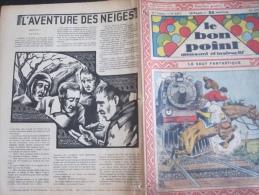 Le Bon Point Amusant Et Instructif N° 1273 : Le Saut Fantastique. 1937 - Altre Riviste