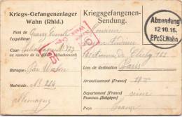 Kriegs-Gefangenenlager Wahn (Rhld.) - 1916 - Weltkrieg 1914-18