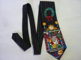"""SUPERBE CRAVATE """" ADDICTION """" Père  Nôel """" (voir 2 Photos ) - Cravates"""