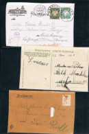 Tres Postales Del Tema Zeppelin - Alemania