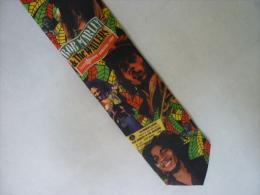 "SUPERBE CRAVATE  BOB MARLEY  "" RALPH MARLIN "" Année 95 (voir 2 Photos ) - Cravates"