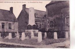 Saint-Georges-de-la Couée - La Place - Ed. J Mérel - France
