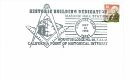 80 - LOT D'OBLITERATIONS AMERICAINES SYMBOLIQUES (13 Exemplaires Différents). - Freemasonry