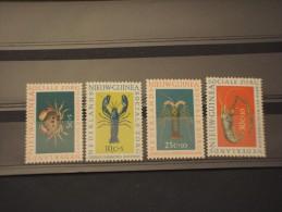 NUOVA GUINEA - 1962 CROSTACEI 4 Valori  - NUOVI(++) - Nuova Guinea Olandese