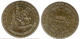 Pi�ce officielle Monnaie de Paris  Mickey et Parc Disneyland Resort Paris 2004