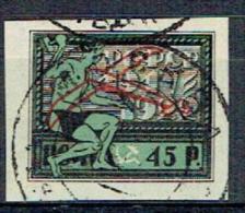 92 - Tailleur De Pierre Et Tablier, Pour Le 5ème Anniversaire Des Soviets