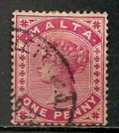 Timbres - Malte - 1885 - 1 P. -