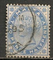 Timbres - Malte - 1885 - 4 Pence -