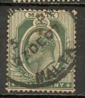 Timbres - Malte - 1904/06 - 1/2 P. -