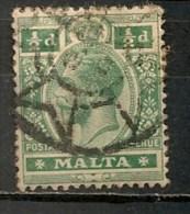 Timbres - Malte - 1907/11 - 1/2 D. -