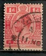 Timbres - Malte - 1907/11 - 1 D. -