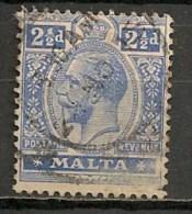 Timbres - Malte - 1907/11 - 2 1/2 D. -