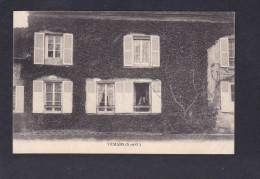 Vemars (95) ( Sans Légende Belle Demeure Chateau ? Petite Animation Cachet Arthur Lecouet Cultivateur Au Verso) - France
