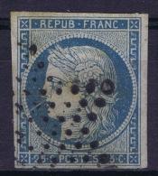 France: 1850 Yv Nr 4 Used Obl Etoile - 1849-1850 Cérès