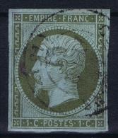 France: 1860 Yv Nr 11 Used Obl - 1853-1860 Napoleon III